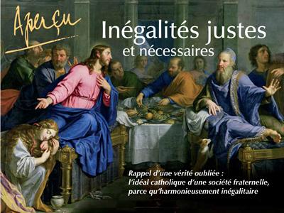Livre Apercu sur les inegalites justes et necessaires 1 - « Aperçu – Inégalités justes et nécessaires – Rappel d'une vérité oubliée » livre