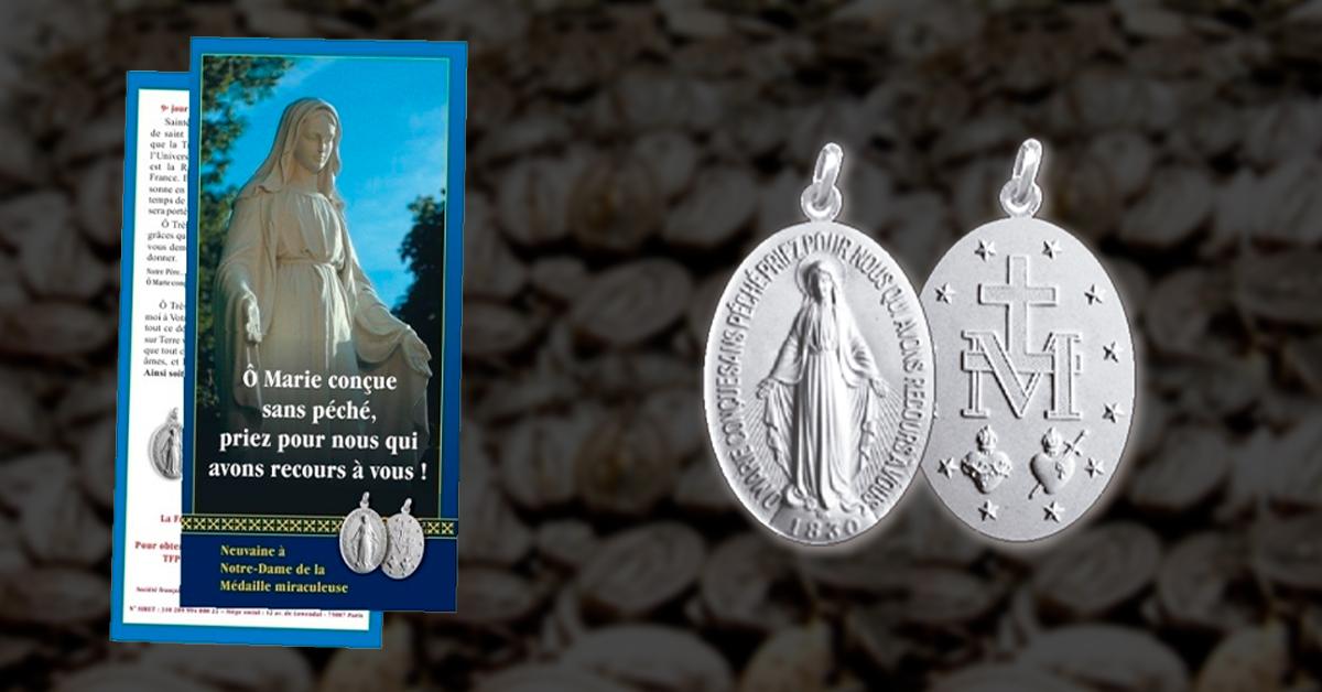 Medaille Miraculeuse 1200px - Appel Urgent Diffusion de la Médaille miraculeuse