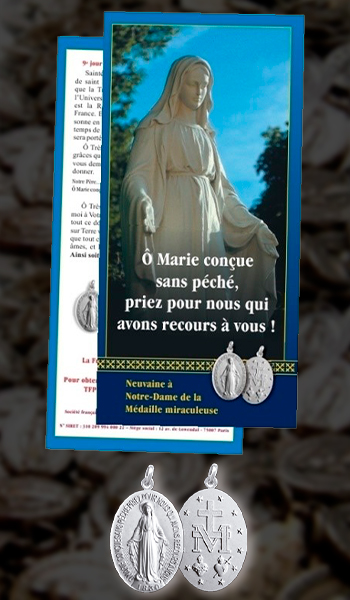 Medaille Miraculeuse - Action