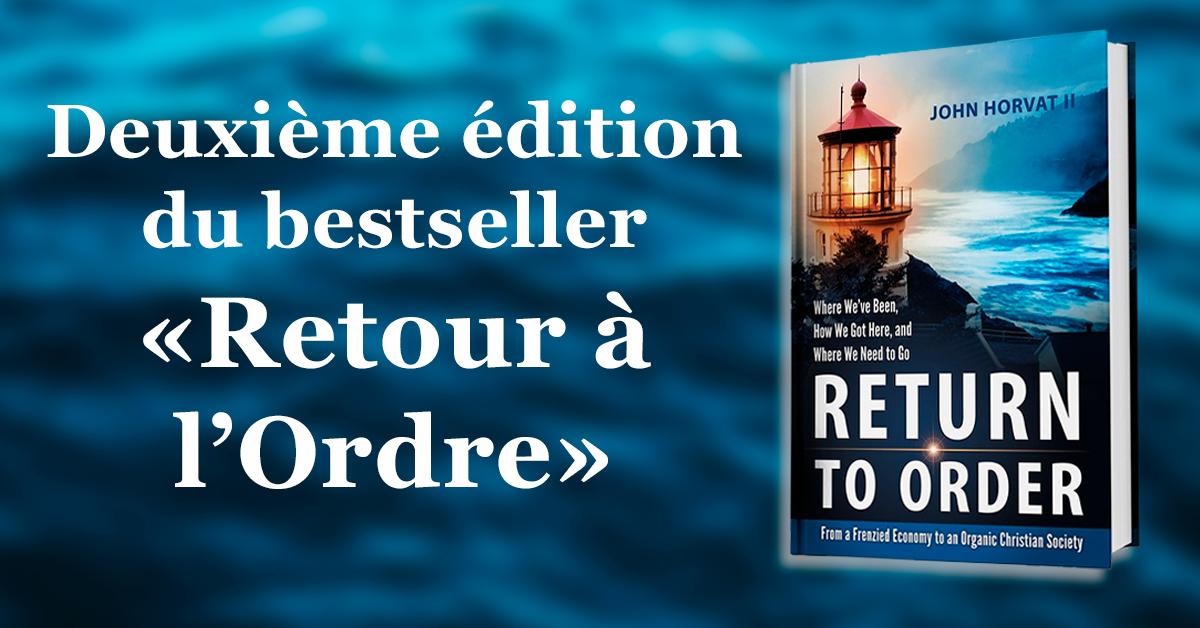Retour a lordre - Deuxième édition du bestseller «Retour à l'Ordre»