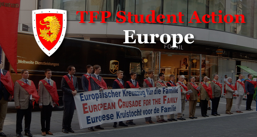 TFP Student Action Europe - Student action de la TFP en Europe