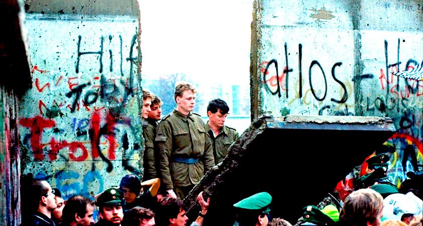 Berlin mur - Communisme et anticommunisme au seuil de la dernière décennie de ce millénaire