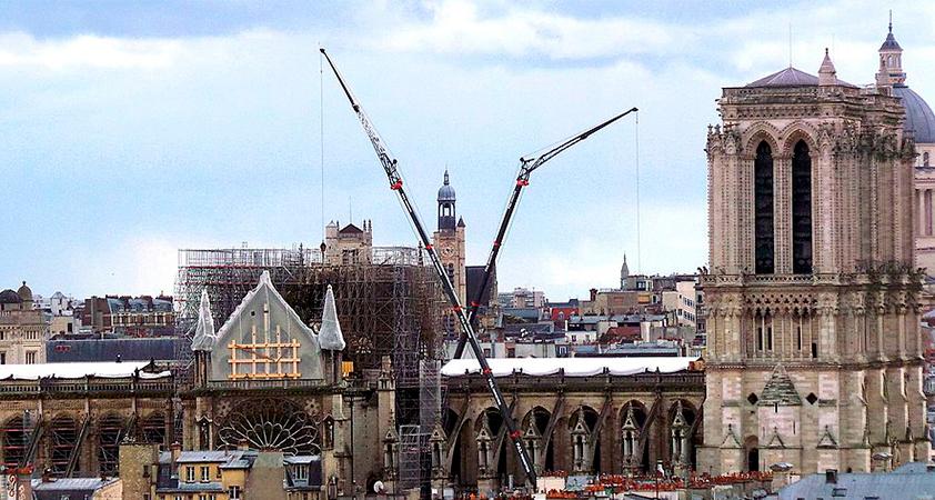 Notre Dame reconstrucion - Notre-Dame de Paris : le chantier au point mort