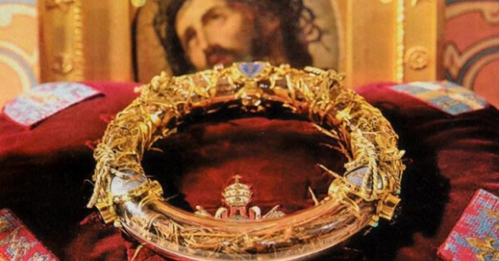 Design sem nome 1 1024x536 - La Couronne d'épines vénérée à l'église Saint Germain l'Auxerrois
