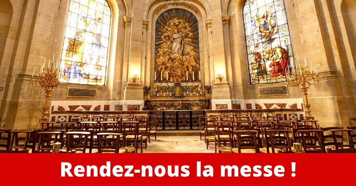 2 1 - Interdire le culte catholique c'est une offense aux chrétiens !